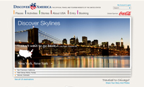 Discover America Wireframes